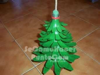 Reciclagem de pl stico em natal - Manualidades navidad primaria ...