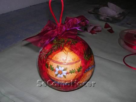 Bolas para rvore de natal - Como decorar bolas de navidad ...