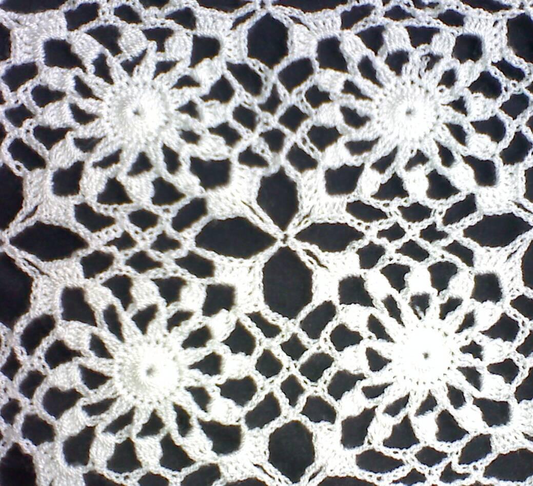 Os desenhos feitos em croch para ir praia explicados for Cosas de ganchillo faciles
