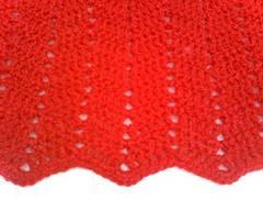 Capa cruzada de crochet