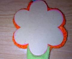 Flor de ganchillo