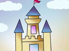 Dibujar un castillo