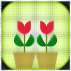 Flores patrón