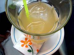 Batido de té verde