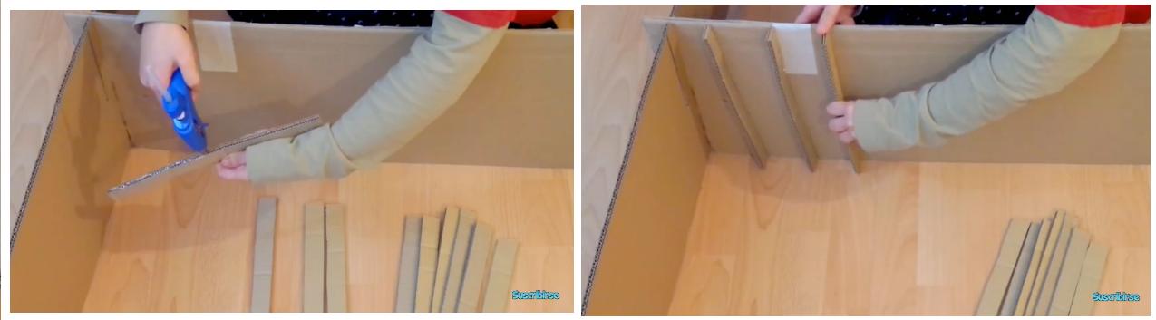 M vel de escrit rio de papel o passo a passo for Muebles de carton pdf